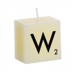 Vela Decorativa Letras W 5 cm