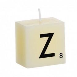 Vela Decorativa Letras Z 5 cm