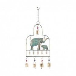 Adorno de Pared Decorativo Colgante Elefante 47 cm