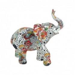 Figura Decorativa Elefante Ceramica 18 cm
