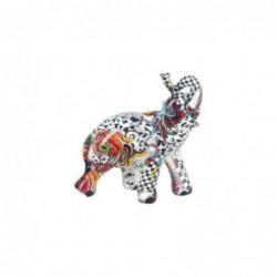 Figura Decorativa Elefante Ceramica 9 cm
