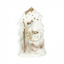 Figura Decorativa Navidad EL Nacimiento Resina 24 cm