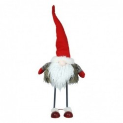 Figura Decorativa Navidad Santa Klaus Peluche 67 cm