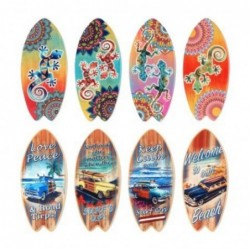 Iman de Nevera x8 Tablas Surf Ceramica 10 cm