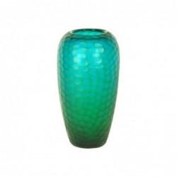 Jarron Decorativo Cristal Verde 36 cm