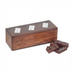 Juego de Mesa Domino de Madera 16 cm