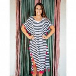 Vestido Poncho talla Unica Bicolor 100x50 cm