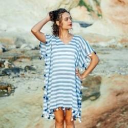 Vestido Poncho talla Unica Bicolor 90x50 cm