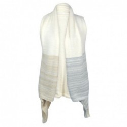 Vestido Poncho talla Unica Blanco 80x45 cm