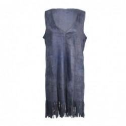 Vestido Poncho talla Unica Gris 90x50 cm
