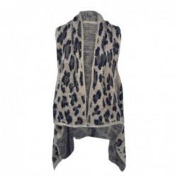 Vestido Poncho talla Unica Marron 85x45 cm