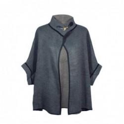 Vestido Poncho talla Unica Negro 75x45 cm