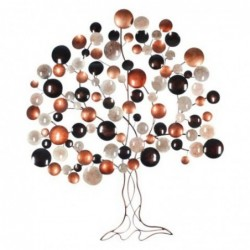 Adorno de Pared Arbol Colores Metal 115 cm