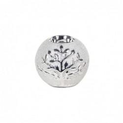 Bola Candelabro Decorativa Ceramica 10 cm