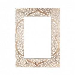 Espejo de Pared Rectangular Madera 60x45 cm