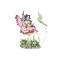 Figura Decorativa Hada Resina 16 cm