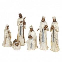 Figura Decorativa Navidad EL Nacimiento 6 Piezas Resina 59 cm