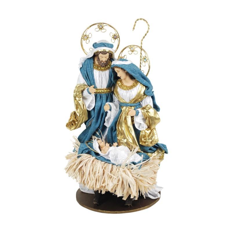 Figura Decorativa Navidad EL Nacimiento Papel Maché 45 cm