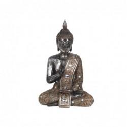 Figura Decorativa Resina Buda Sentado 29 cm