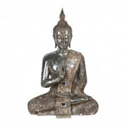 Figura Decorativa Resina Buda Sentado 56 cm