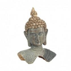 Figura Decorativa Resina Cabeza Buda 30 cm