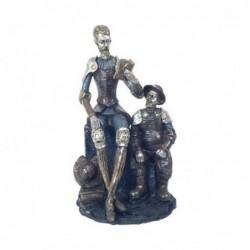Figura Decorativa Resina Don Quijote 30 cm