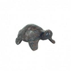 Figura Decorativa Tortuga Hierro 9 cm