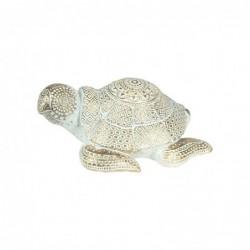 Figura Decorativa Tortuga Resina 18 cm