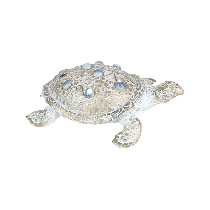 Figura Decorativa Tortuga Resina 20 cm