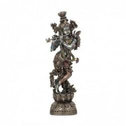 Figura Grande Decorativa Clasica KRISHNA-TOCANDO LA FLAUTA 75 cm