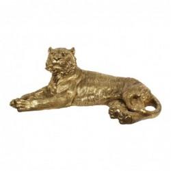Figura Grande Decorativa Tigre Resina 108 cm