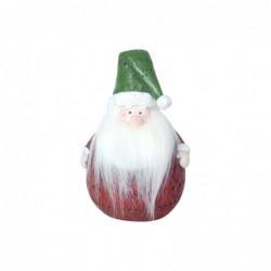 Figura Resina Navidad Papa Noel 15 cm