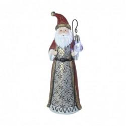 Figura Resina Navidad Papa Noel 32 cm