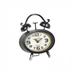 Reloj Despertador Retro Metal 19 cm