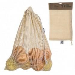 Bolsa de Compra Malla Para Fruta y Verdura Reutilizable 30x40 cm