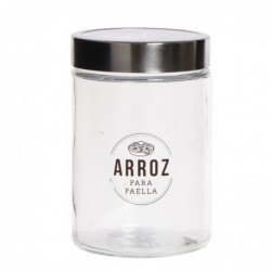 Bote Cristal Arroz 17 cm