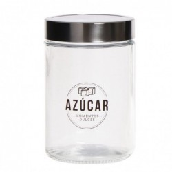 Bote Cristal Azucar 17 cm