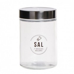 Bote Cristal Sal 17 cm