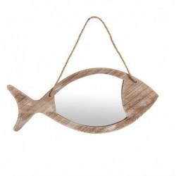 Espejo de Pared Forma Pez 35 cm