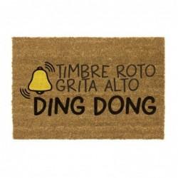 Felpudo Antideslizante Ding Dong 40x70 cm