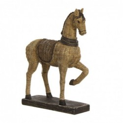 Figura Decorativa Caballo Ratan 36 cm