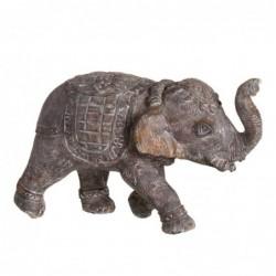 Figura Decorativa Elefante Piedra 36 cm