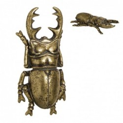 Figura Decorativa Escarabajo Oro 22 cm