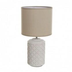 Lampara de Mesa Base Ceramica 35 cm