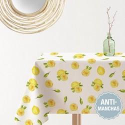 Mantel Antimanchas 145x200 cm Lemon