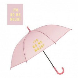 Paraguas Antiviento Rosa 58 cm