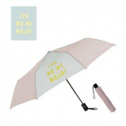 Paraguas Plegable Antiviento Rosa 21 cm