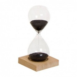Reloj de Arena con Base Madera 15 cm
