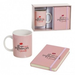 Set De Regalo Taza y Libreta Influencer Mama