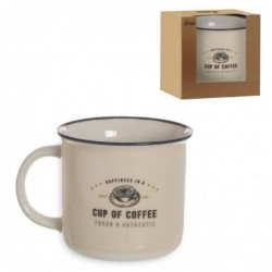 Taza Mug 375 ml Vintage Food Truck 9 cm